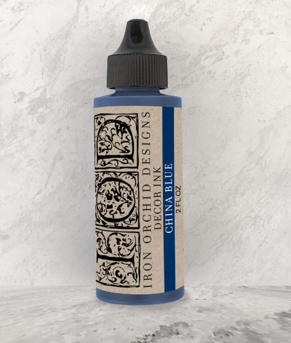 DECOR INK CHINA BLUE 2 OZ.