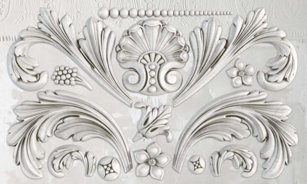 ACANTHUS SCROLL 6×10 DECOR MOULDS™