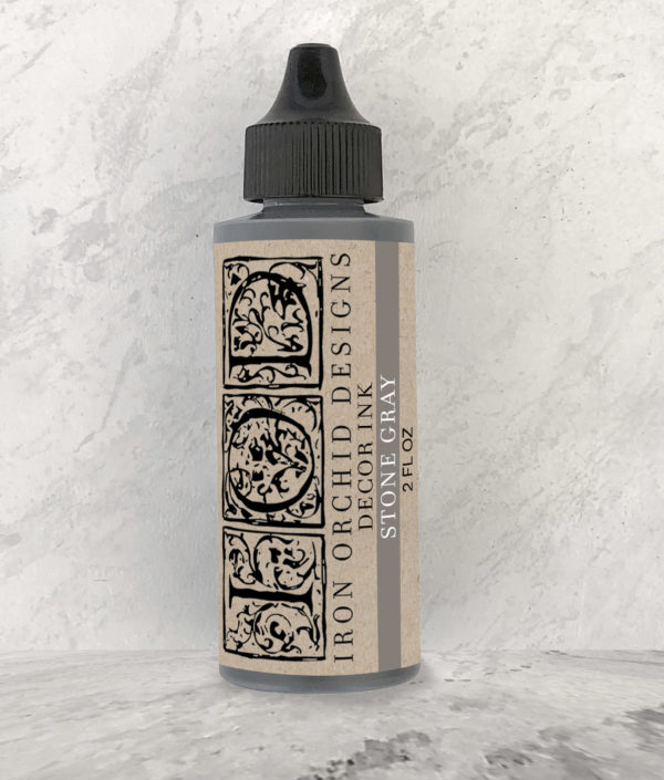 DECOR INK STONE GRAY 2 OZ.