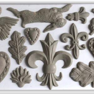 FLEUR DE LIS 6×10 DECOR MOULDS
