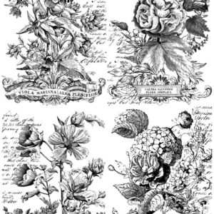 CLASSIC BOUQUETS 24×33 PAINTABLE™ DECOR TRANSFER™